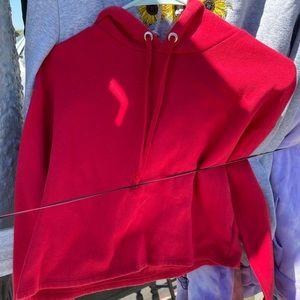 COPY - H&M Red Crop Sweater